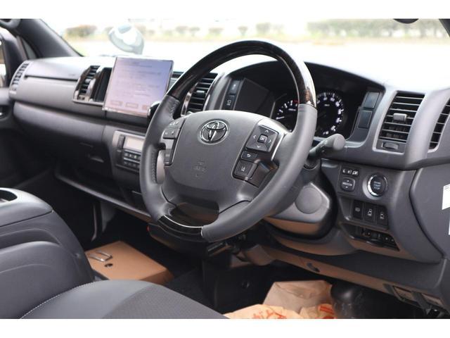 スーパーGL ダークプライムII 2.8D-Tワイド3列REVOシート2脚1ナンバー8人ロングスライドレールフロアフローリングパナソニック10inナビカロッツエリアフリップダウンモニターパノラマミックビューモニター車中泊アウトドア仕様(38枚目)