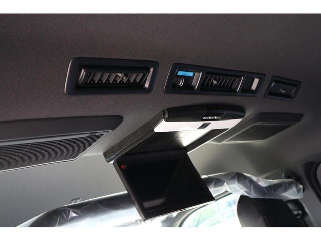 スーパーGL ダークプライムII S-GLワイドIFUUカスタムコンプリートフローリングベットキットバケットシートカバーフルセグナビフリップダウンモニター助手席ツインモニターウッドインテリアLEDテール17inアルミローダウンエアロ(24枚目)