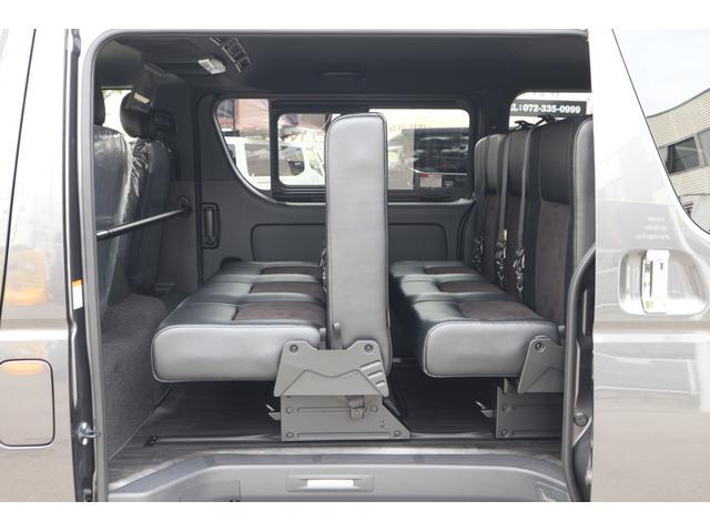 スーパーGL ダークプライムII 2.8D-T2WD3列REVOシート2脚4ナンバー8人フロアフローリングロングスライドレールフルフルラットベット対面ラウンジ展開フルセグナビフリップダウンモニターパノラマモニター車中泊アウトドア仕様(19枚目)