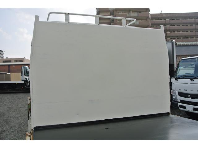 平ボディ 3.5t ワイド超ロング 3方開 荷台床鉄板 AT(16枚目)