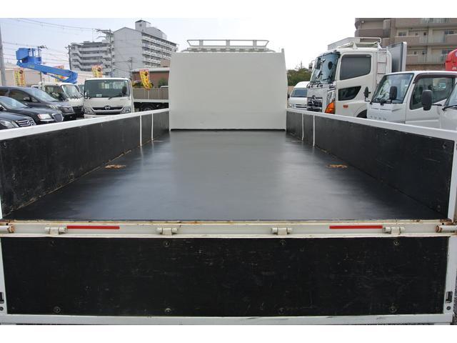 平ボディ 3.5t ワイド超ロング 3方開 荷台床鉄板 AT(17枚目)