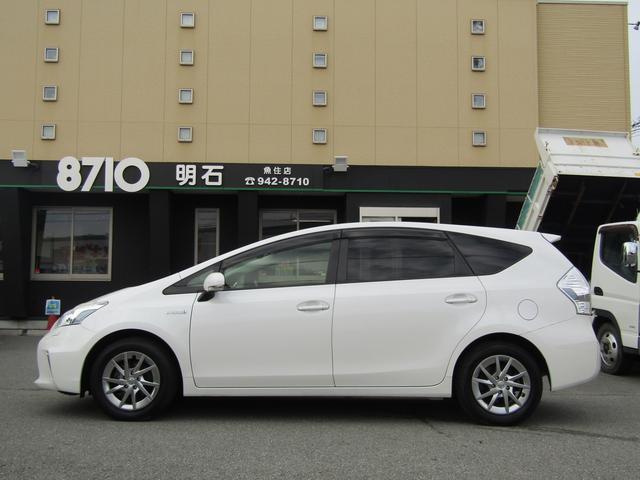 「トヨタ」「プリウスα」「ミニバン・ワンボックス」「兵庫県」の中古車3