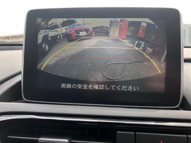 バックモニターもついておりますので駐車も安心ですね!!
