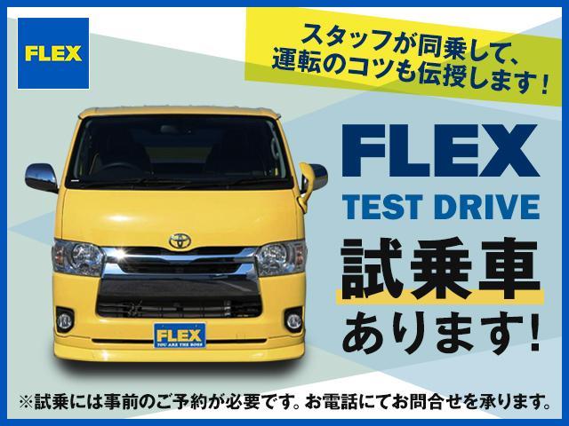 GL パーキングサポート FLEXベッドキットシートアレンジ ダブルモニター フローリング施工 Fスポイラー FLEX17インチAW ナスカータイヤ 1インチローダウン(22枚目)