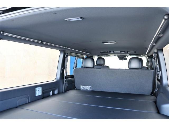 スーパーGL ダークプライムII ロングボディ パーキングサポート アクティブギアパッケージ ナビETCベッド付き 床張り施工(15枚目)