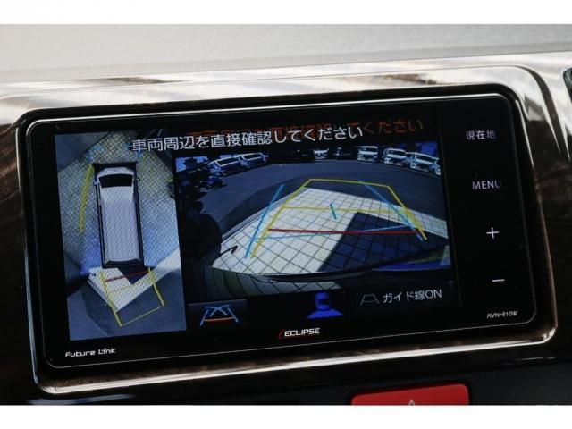 スーパーGL ダークプライムII ロングボディ パーキングサポート アクティブギアパッケージ ナビETCベッド付き 床張り施工(18枚目)