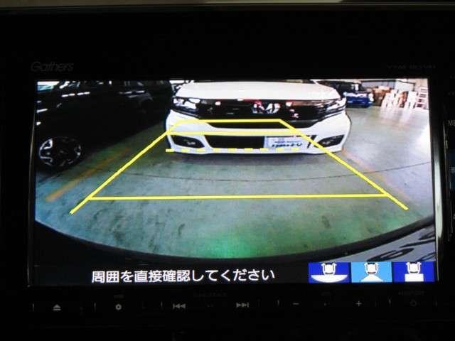 ◆リアカメラ◆リバースにするだけで映ります、後方の安全確認や、狭い駐車場での車庫入れ、雨の日や夜間など視界の悪い時に便利です!安全にバックする為には欠かせない装備です。