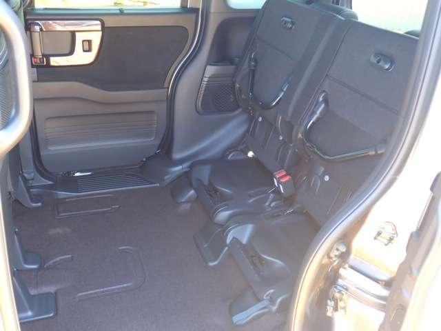 G・Lターボホンダセンシング オーディオレス ETC AW LED キーフリー ESC LEDヘッド ターボ車 バックカメ クルコン ETC フロアマト無 アルミ ベンチシート アイドリングストップ 盗難防止装置 ABS パワステ(10枚目)