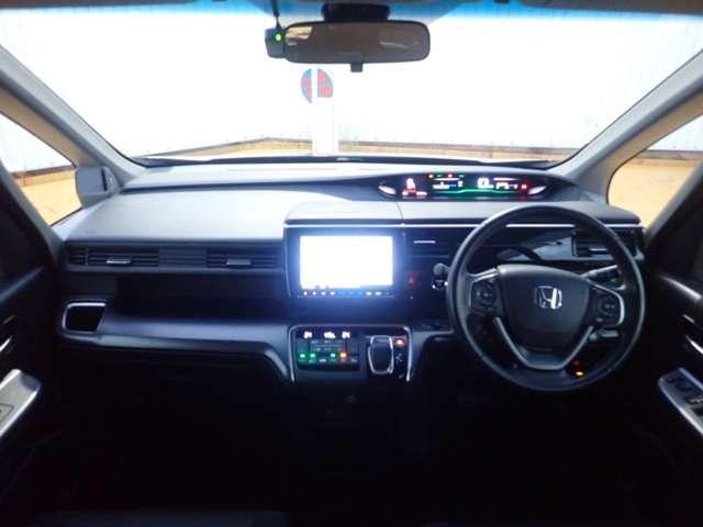 スパーダハイブリッド G ホンダセンシング 純正ナビ フルセグ Rカメラ ETC 両側自動ドア LED ETC メモリーナビ ナビTV バックカメ 地デジ 衝突軽減 キーレス 3列シート(20枚目)