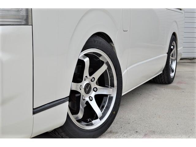 トヨタ ハイエースバン ロングスーパーGL 3型フェイス ローダウン