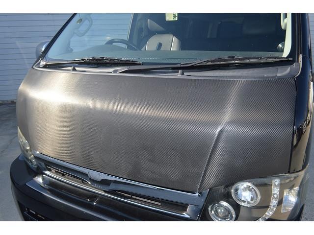 トヨタ ハイエースバン ロングスーパーGL ワンオフマフラー Cノッチ加工