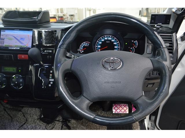 トヨタ ハイエースバン ロングワイドスーパーGL HDDナビ 後席モニター Bカメラ