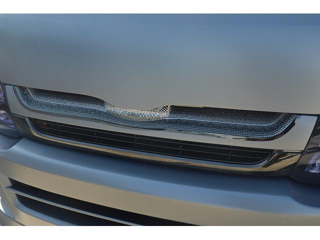トヨタ ハイエースバン ロングスーパーGL フルカスタム オーディオ改 Cフレーム