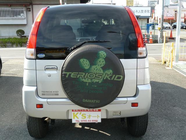 「ダイハツ」「テリオスキッド」「コンパクトカー」「奈良県」の中古車7