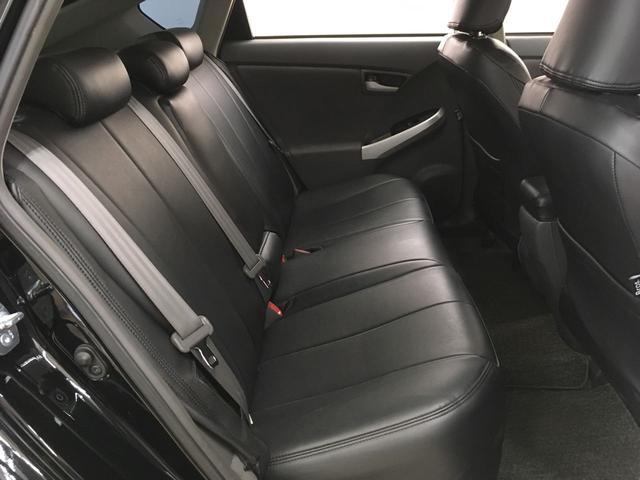 トヨタ プリウス S SDナビ 黒革調シート 社外19インチアルミ フルセグ