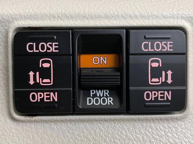 G 禁煙車 LEDヘッドライト 純正ナビ&TV 両側電動スライドドア スマートキー&プッシュスタート ビルトインETC(6枚目)