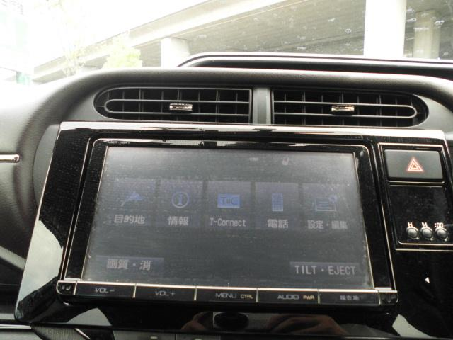 G 中期モデル SDナビTV音楽録音DVD再生Bluetooth スマートキー プッシュスタートシステム HIDヘッドライト クルーズコントロール Bカメラ リアスポイラー オートエアコン 純正アルミ(9枚目)