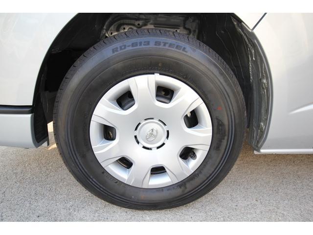 左前タイヤです。