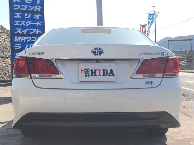 トヨタ クラウンハイブリッド アスリートS プリクラッシュ HDDナビ レーダークルコン