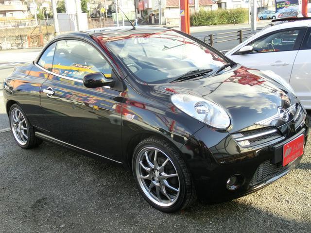「日産」「マイクラC+C」「オープンカー」「兵庫県」の中古車7
