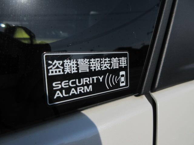 盗難警報装置セキュリティアラーム付きで車両盗難に会いにくく防犯にうってつけです。