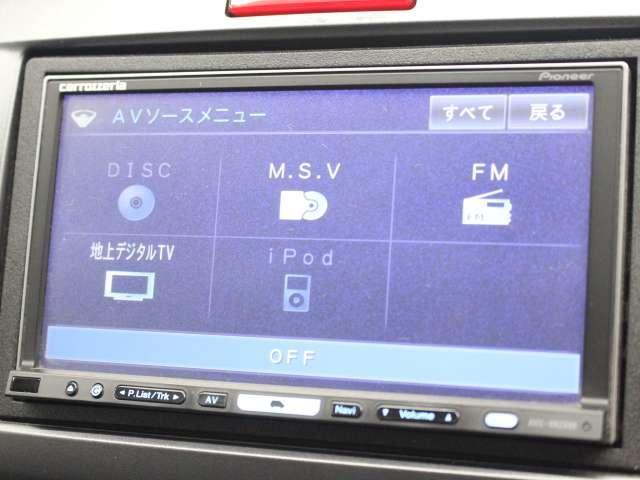 フレックス エアロ HDDナビ フルセグTV HID ETC(13枚目)
