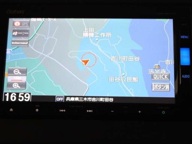 G・EX 当社デモカー メモリーナビ フルセグTV(3枚目)