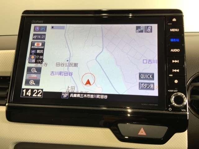 Lホンダセンシング 当社試乗車 8インチナビ リアカメラ 前後ドラレコ 運転席シートヒーター LEDヘッドライト(3枚目)