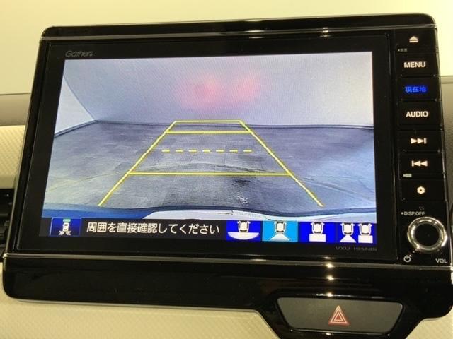 Lホンダセンシング 当社試乗車 8インチナビ リアカメラ 前後ドラレコ 運転席シートヒーター LEDヘッドライト(4枚目)