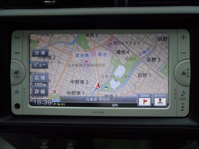 トヨタ アクア S SDナビ ワンセグ バックモニター