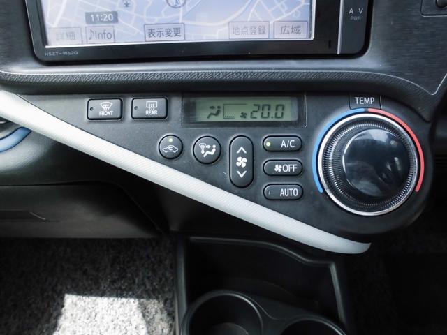 トヨタ アクア S SDナビ フルセグ バックモニター エアロ