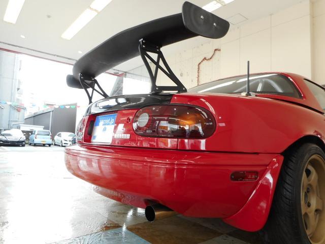 ユーノス ユーノスロードスター スペシャルPKG ハードトップ SSR16アルミ 外エキマニ