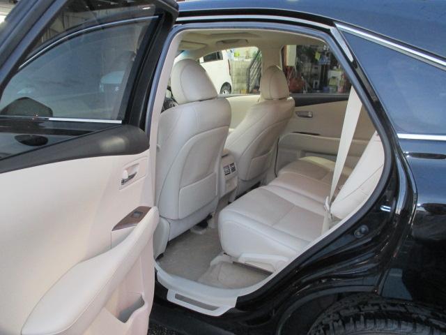 レクサス RX RX450h バージョンLサンルーフ エアシート