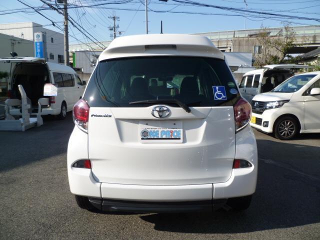 X 車いす仕様 スロープタイプ タイプ1 助手席側リアシート(19枚目)