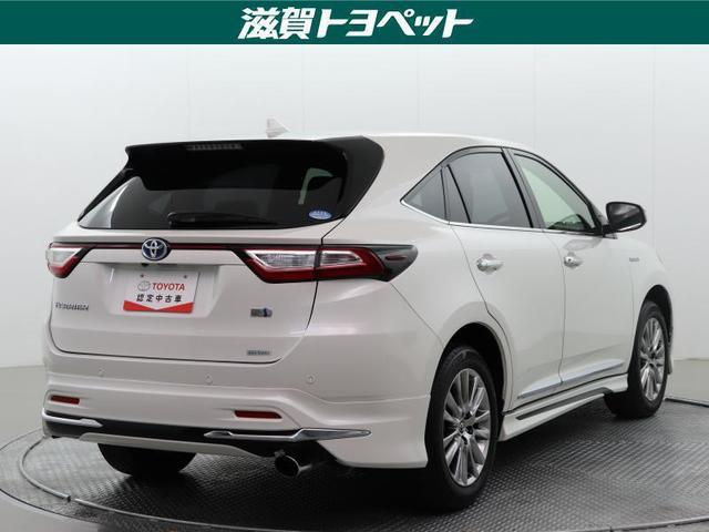 「トヨタ」「ハリアーハイブリッド」「SUV・クロカン」「滋賀県」の中古車3