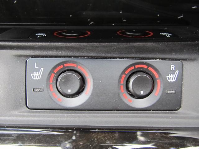 寒い日でも座面から温めてくれるシートヒーター付き!
