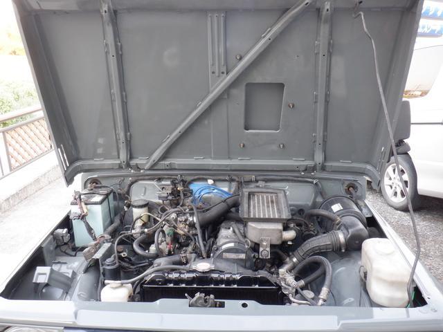 ランドベンチャー ETC エンジンオーバーホール タービン新品 オールペイント シート貼り替え マッドタイヤ 天井張り替え(24枚目)