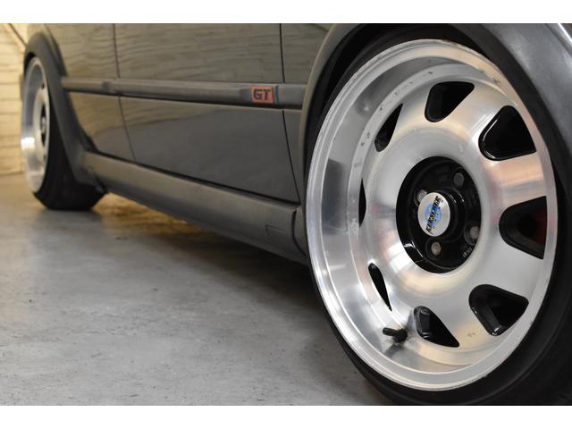 左ハンドル レザーシート ディーラー車 車高調 全塗装(3枚目)