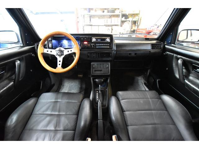 左ハンドル レザーシート ディーラー車 車高調 全塗装(4枚目)