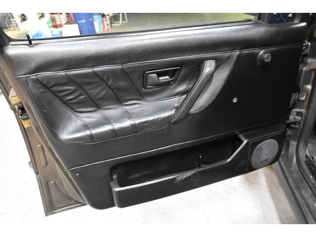 左ハンドル レザーシート ディーラー車 車高調 全塗装(13枚目)