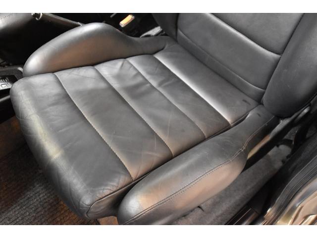 左ハンドル レザーシート ディーラー車 車高調 全塗装(14枚目)