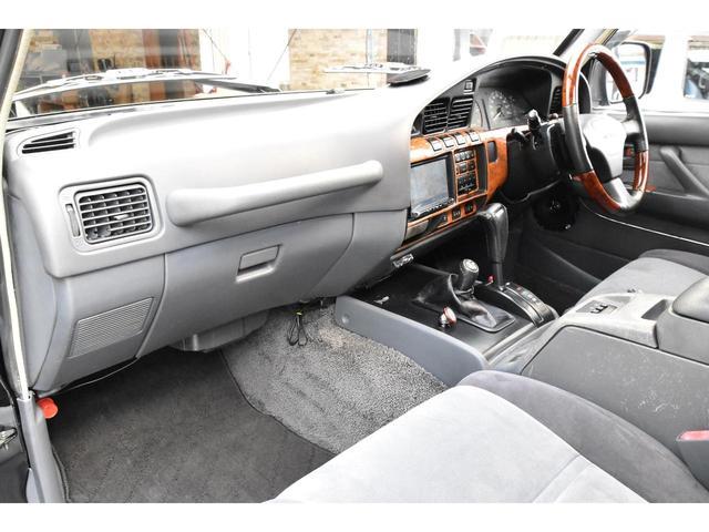 VXリミテッド 4WD 角目4灯 全塗装済 2インチアップ ランチョダンパー 1ナンバー登録 センターデフロック ギブソンマフラー 16アルミ フルセグTV Bluetooth Audio(15枚目)