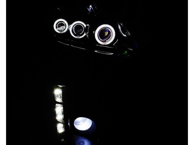 トヨタ プリウス S LEDエディ 6連イカリング NEWエアロ NEW車高調