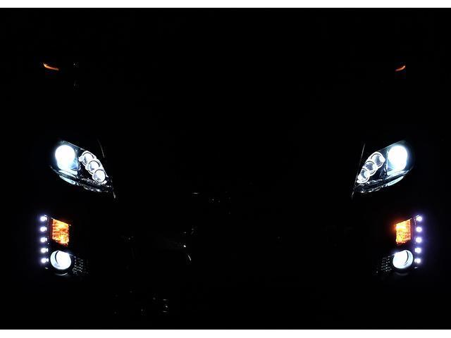 トヨタ プリウス G サンルーフ フルカスタム 8連イカリング4本マフラー