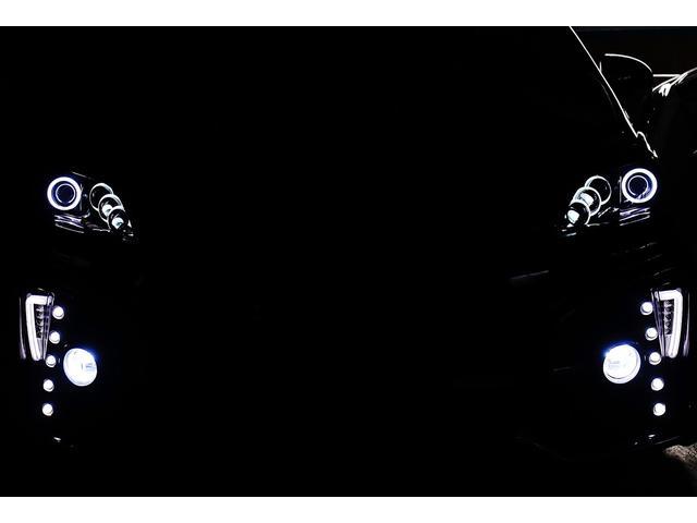 トヨタ プリウス S後期仕様フルカスタム 8連イカリング車高調 4本出マフラー