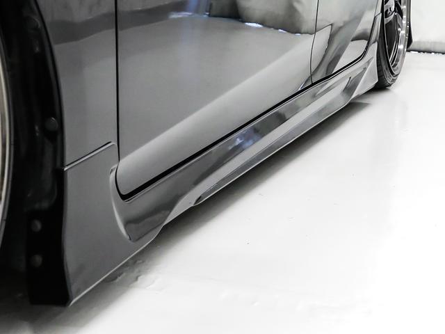 S Ver.2フルエアロ/ブラックメッキカスタム/オリジナルカラーアイヘッドライト/シュタイナーLSVオリジナルブラッククリア19インチホイール/エンブレムブラックアウト/スモークテール/フルカスタム(42枚目)