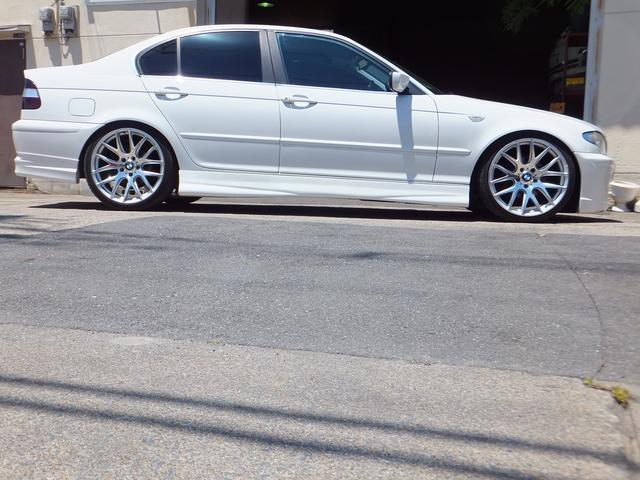 BMW BMW 320i後期 フルエアロ ローダウン 19AW パワーシート