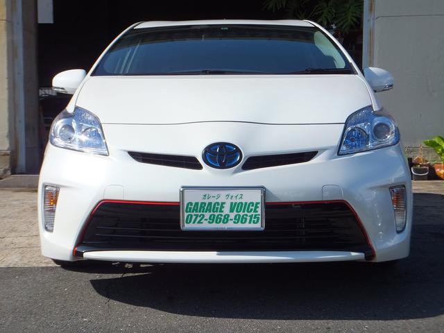 トヨタ プリウス G 新品19inタイヤホイル 車高調 LEDヘッドライト