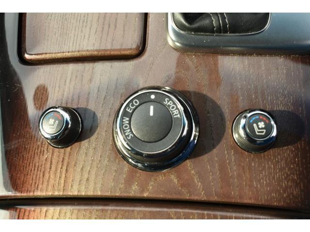 ハイブリッド VIP メーカーナビ フルセグTV バックカメラ サイドカメラ 本革シート サンルーフ キセノンヘッドライト シートエアコン パワーシート コーナーセンサー インテリキー(9枚目)