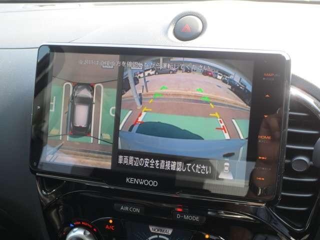 15RX Vセレクション 登録済未使用車 大画面9インチナビ フルセグTV 全周囲カメラ エマブレ HIDヘッド インテリキー 前後アンダーカバー ドルフィンアンテナ(7枚目)